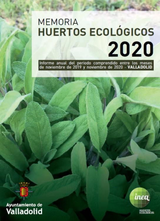 Memoria Huertos INEA 2020
